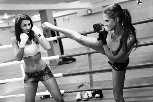 уроки самообороны для девушек