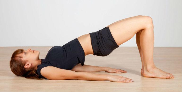 как укрепить мышцы спины дома