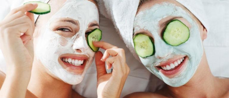 домашние увлажняющие маски для лица